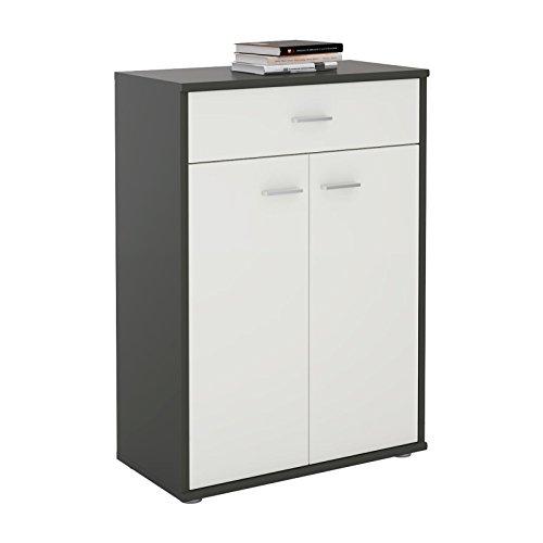 sideboard grau hochglanz oder matt. Black Bedroom Furniture Sets. Home Design Ideas