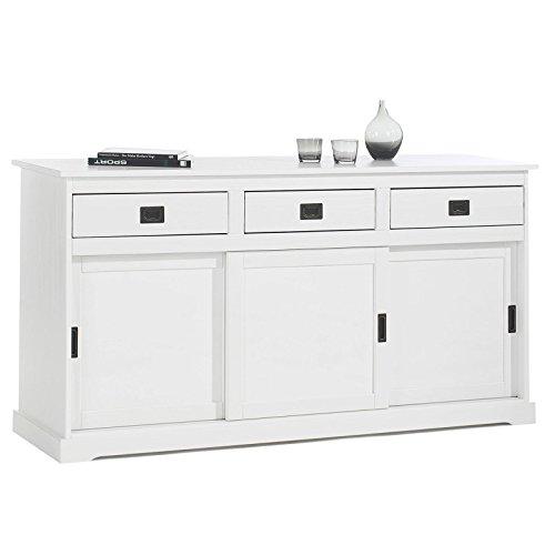 sideboard mit schiebet ren schubladen. Black Bedroom Furniture Sets. Home Design Ideas