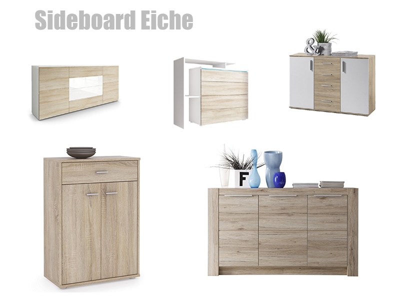 G nstiges sideboard in eiche kaufen for Sideboard rustikal